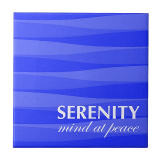 Azul para a serenidade