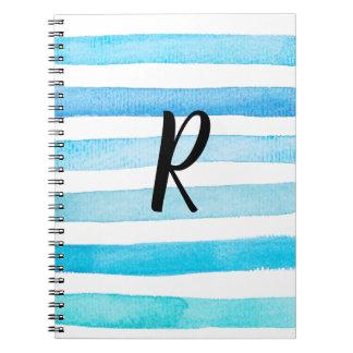 Azul para você caderno