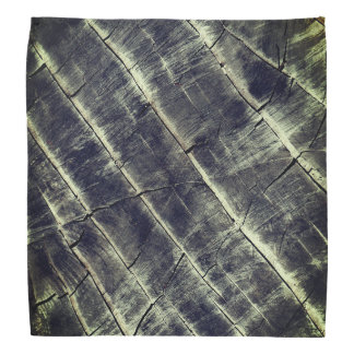 Azul pintado de madeira bandana