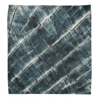 Azul pintado de madeira lenço