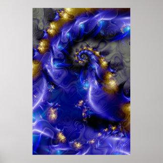 Azul profundo pôster
