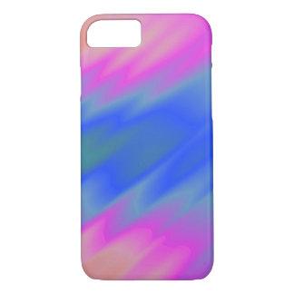 Azul & rosa capa iPhone 7