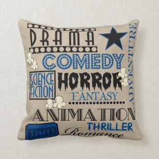 Azul Travesseiro-Escuro do bilhete do gênero do Travesseiro