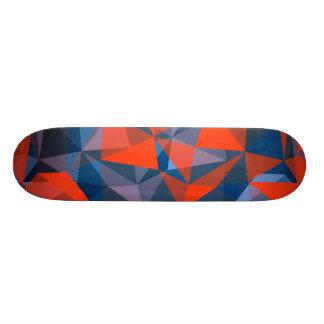 azul vermelho do skate