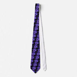 Azul vibrante gravata