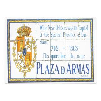 Azulejo 3 do espanhol convite personalizados