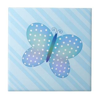 Azulejo A da borboleta das bolinhas