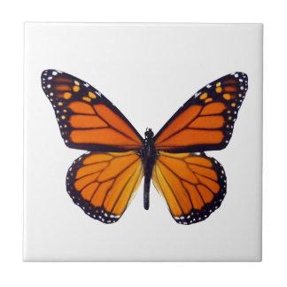 Azulejo alaranjado da borboleta