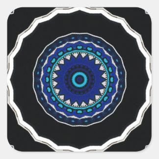 Azulejo ÁRABE Iznik do vintage, Turquia, século Adesivo Quadrado