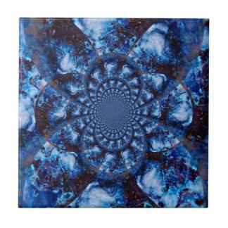 Azulejo azul do banheiro de Azurite