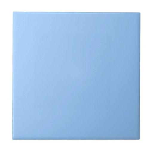 Azulejo azul liso zazzle for Azulejo azul