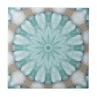 Azulejo brilhante do banheiro do design geométrico