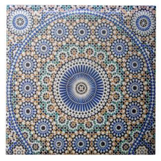 Azulejo cerâmico da foto da arte islâmica do