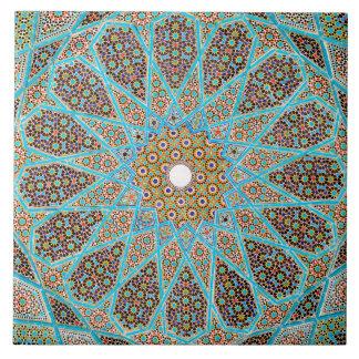 Azulejo cerâmico da foto do design islâmico do