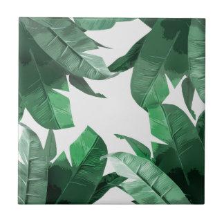 Azulejo cerâmico da foto do impressão tropical da