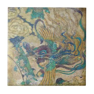 Azulejo chinês antigo da arte