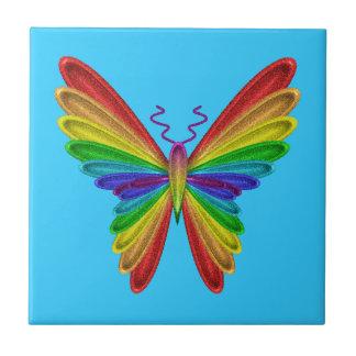 azulejo colorido da borboleta