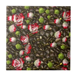 Azulejo com rosas