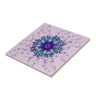 Azulejo constante violeta azul