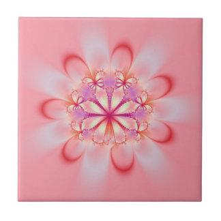 Azulejo cor-de-rosa de Bush de borboleta