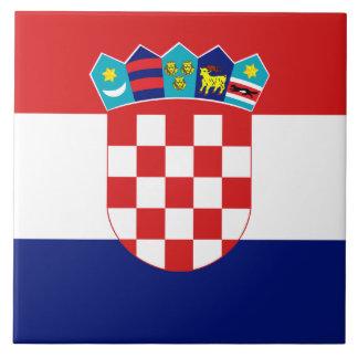 Azulejo croata da bandeira