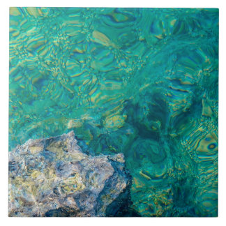 Azulejo da água do oceano de turquesa