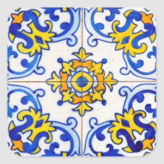 Azulejo da arte de Azulejo Adesivo Quadrado