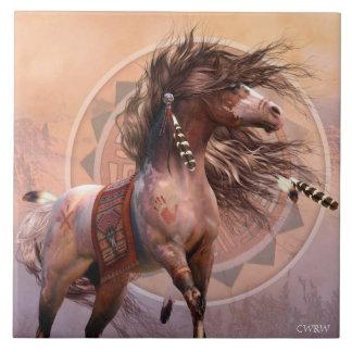 Azulejo da arte do guerreiro do espírito