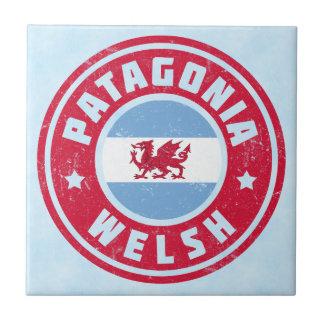 Azulejo da bandeira de Galês do Patagonia