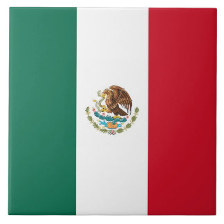 Azulejo da bandeira mexicana