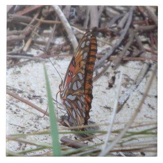 Azulejo da borboleta do Fritillary do golfo