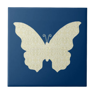 Azulejo da borboleta do laço