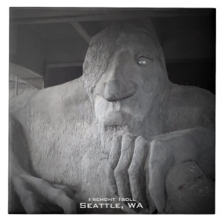 Azulejo da foto do troll de Seattle Fremont