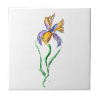 Azulejo da íris de Van Gogh