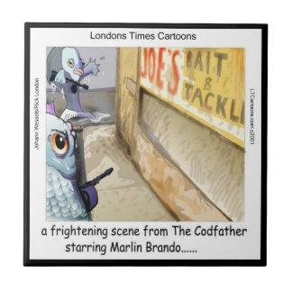 Azulejo da máfia dos peixes de Londres do rick