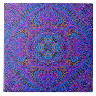 "Azulejo da mandala do Indiano-Estilo de ""Maharani"""