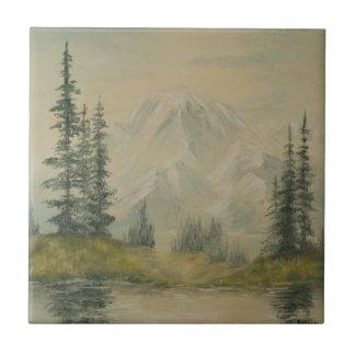 Azulejo da paisagem do lago mountain