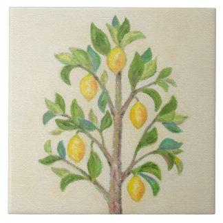 Azulejo da parede da árvore de limão