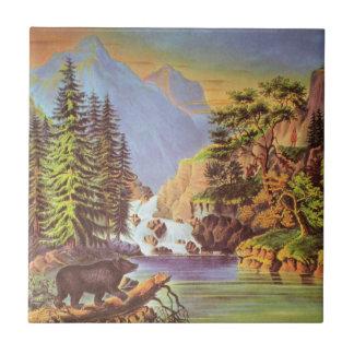 Azulejo da passagem de montanha