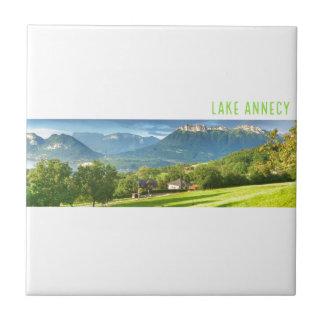 Azulejo de Annecy do lago
