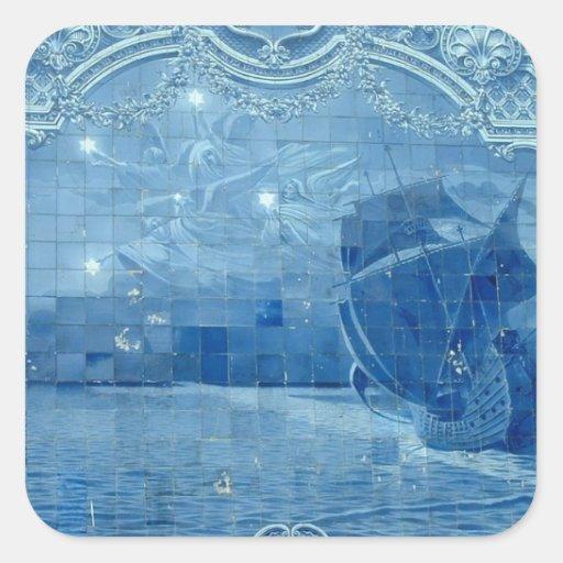 Azulejo de Azulejo Adesivo Em Forma Quadrada