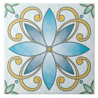 Azulejo de Edelweiss