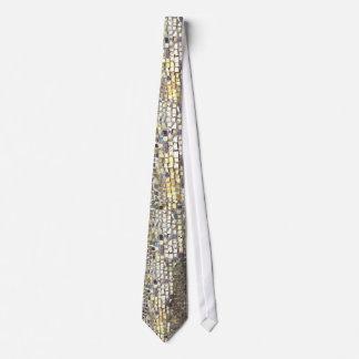 Azulejo de mosaico do ouro gravata
