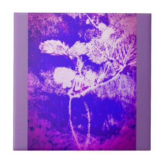 azulejo do impressão da folha