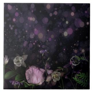 Azulejo do jardim da noite