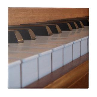 Azulejo do teclado de piano