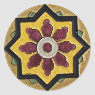 Azulejo do vintage adesivo