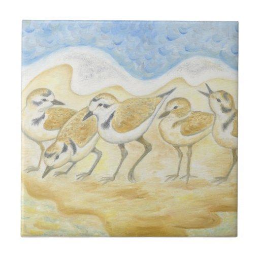Azulejo dos pássaros da tarambola