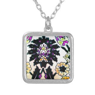 Azulejo floral do turco do otomano do vintage trad colar personalizado
