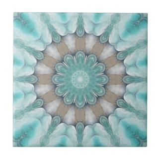 Azulejo floral geométrico do banheiro da estrela